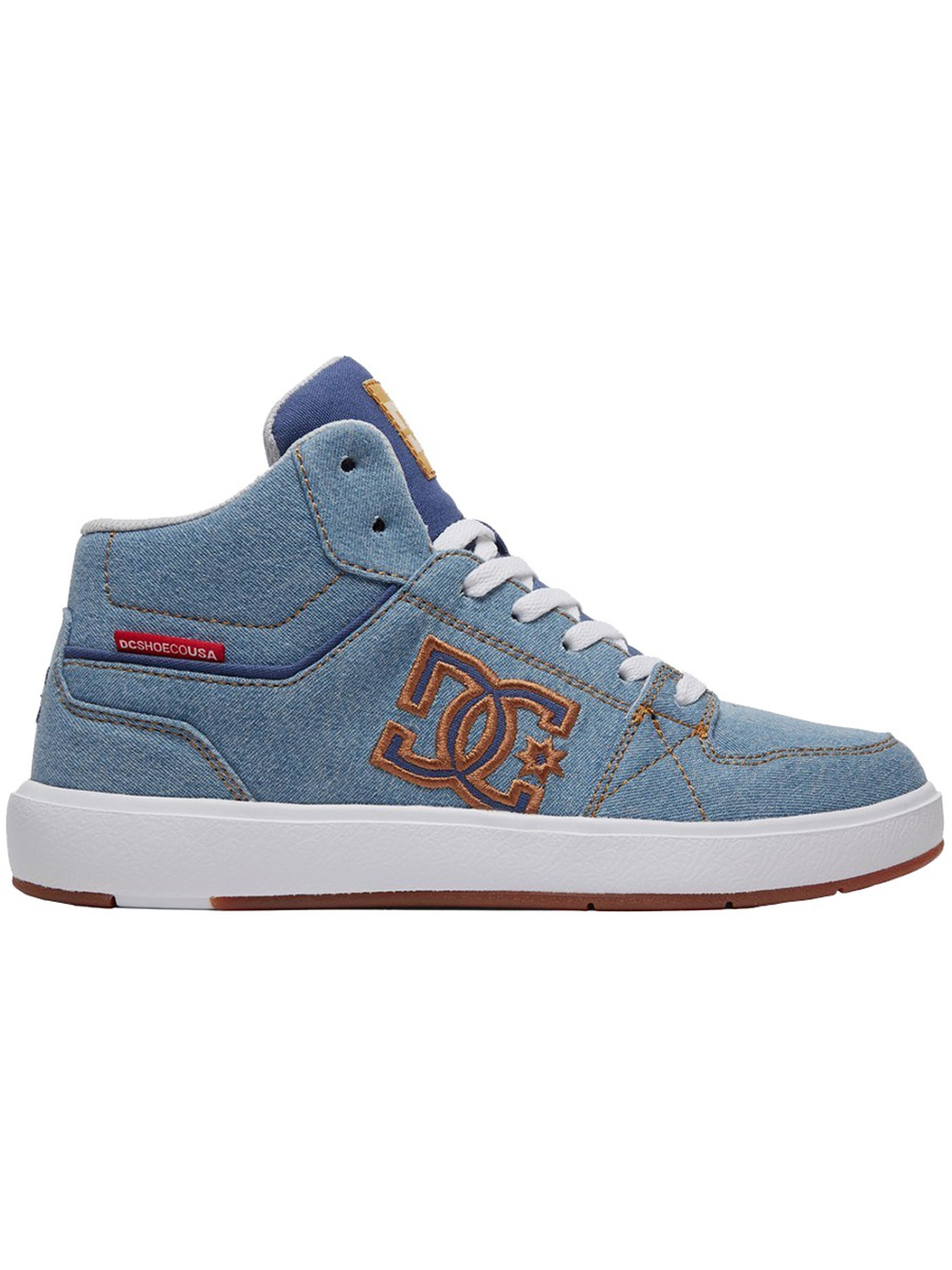 Кеды Dc Shoes ADJS100122-DNM, Синий, 7.5B фото