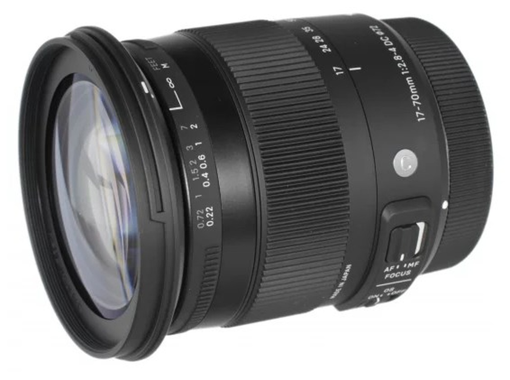 Sigma AF 17-70mm f/2.8-4 DC Macro OS HSM New Contemporary Canon EF-S ( фото