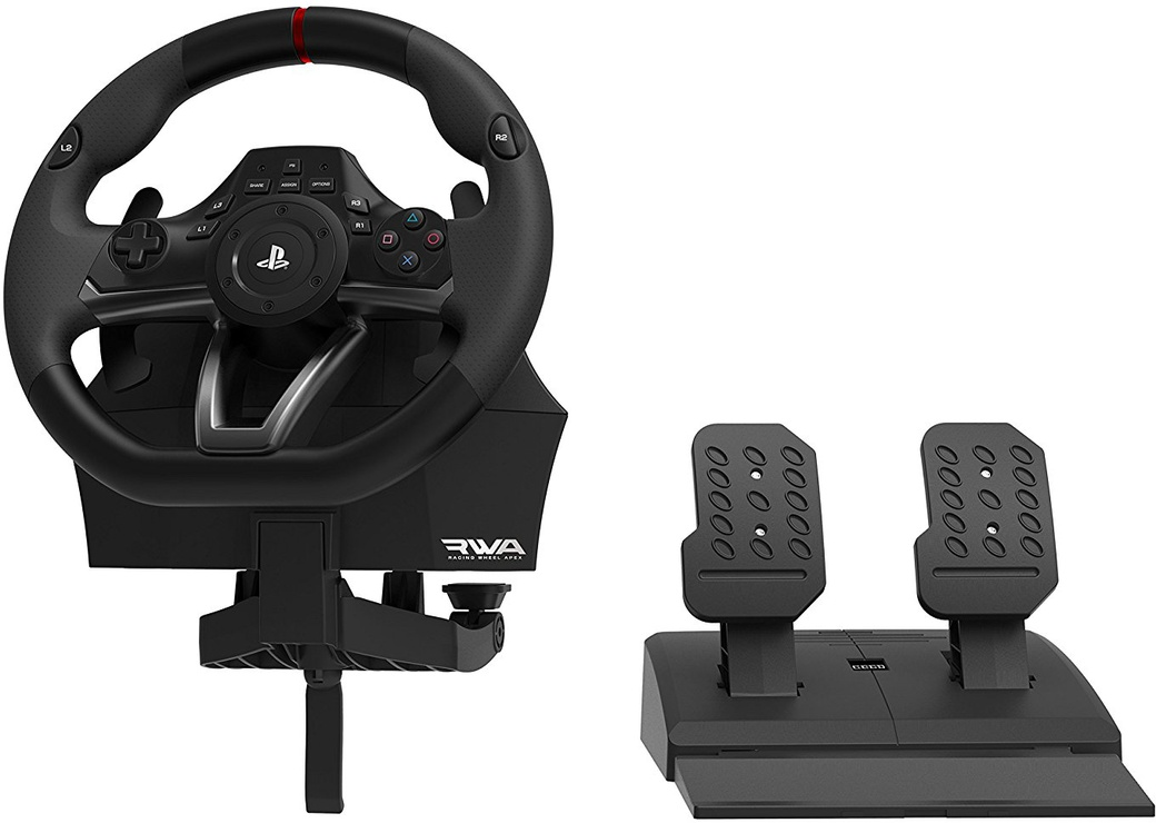 Руль Hori Racing Wheel Apex фото