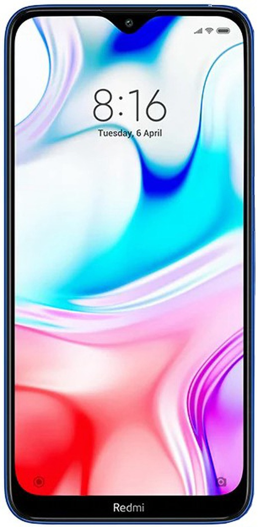 Смартфон Xiaomi RedMi 8 3/32Gb Blue (Синий) Global Version фото