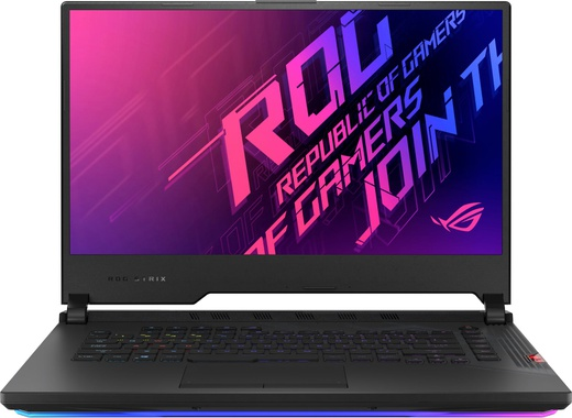 "Ноутбук ASUS ROG G532LWS-AZ155T SCAR (Intel i7 10875H/16Gb/512Gb SSD/15.6"" FHD IPS 240Hz/NVIDIA GeForce RTX 2070 SUPER 8Gb/Wi-Fi/Win10) черный+рюкзак фото"